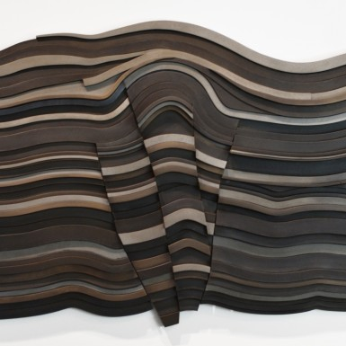 Uploaded ToDUCTILE COMPRESSION 9, WALL SCULPTURE - 2015